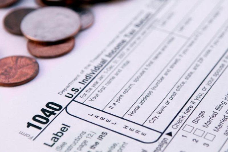 Tax Planning 1040 Individual Tax Form