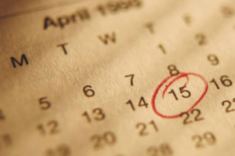 Important Tax-Related Dates to Remember On Your Calendar