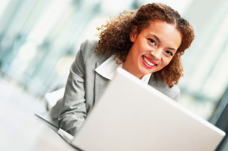 Business Woman Responsible for Payroll Taxes