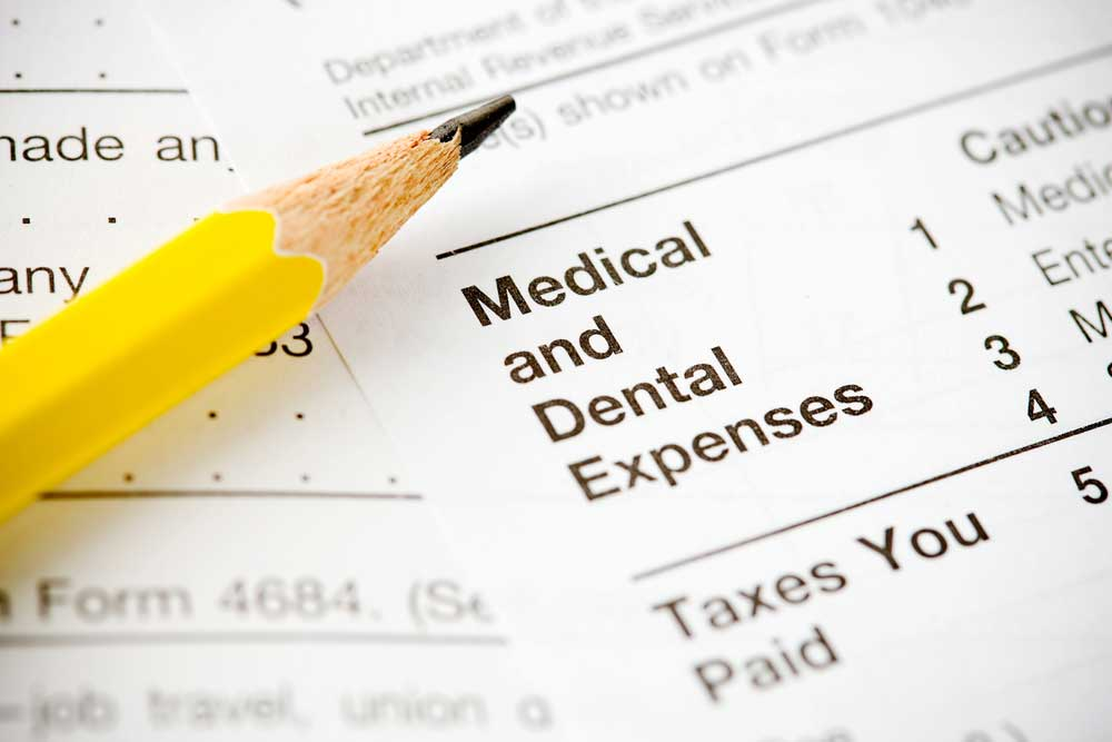 medical and dental tax deductions