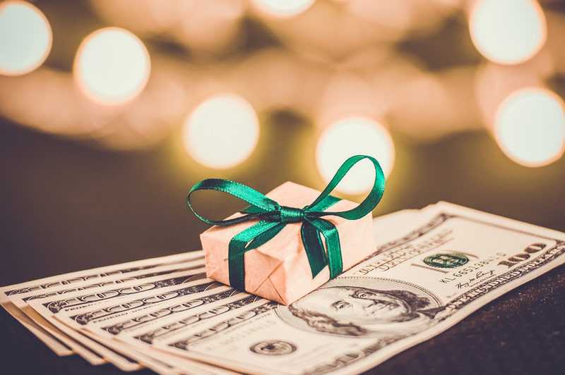 Monetary Gifts & Tax Implications