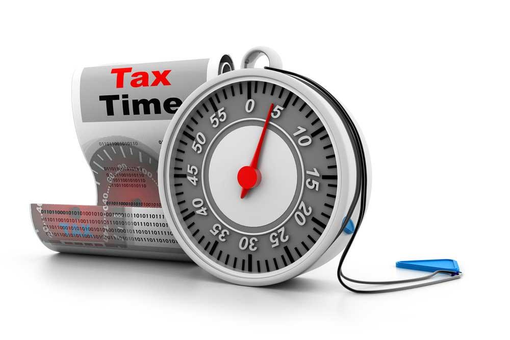Tax Countdown Clock